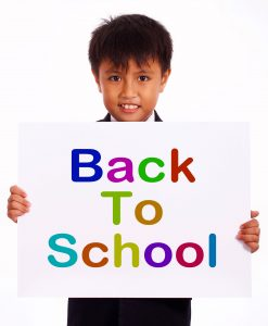 Back To School Sign As Symbol For Education